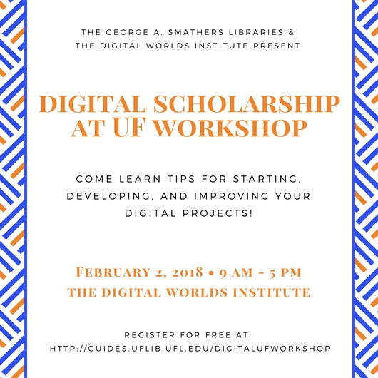 Digital Scholarship Workshop